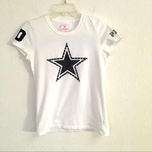 Pink VS Dallas Cowboys star T-shirt M